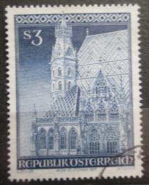 Poštovní známka Rakousko 1977 Katedrála svatého Štìpána Mi# 1545