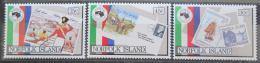 Poštovní známky Norfolk 1984 Výstava AUSIPEX Mi# 344-46