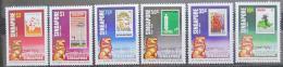 Poštovní známky Singapur 1984 Autonomie, 25. výroèí Mi# 448-53