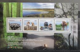 Poštovní známky Kanada 2012 Mláïata Mi# Block 153