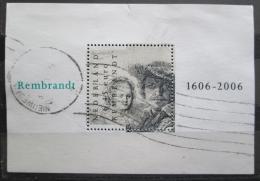 Poštovní známka Nizozemí 2006 Umìní, Rembrandt Mi# Block 96 Kat 13€