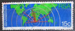 Poštovní známka JAR 1973 Mezinárodní den telekomunikace Mi# 427