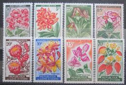 Poštovní známky Pobøeží Slonoviny 1961-62 Kvìtiny Mi# 223-30 Kat 16€