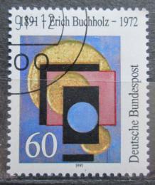 Poštovní známka Nìmecko 1991 Umìní, Erich Buchholz Mi# 1493