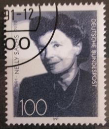 Poštovní známka Nìmecko 1991 Nelly Sachs, spisovatelka Mi# 1575