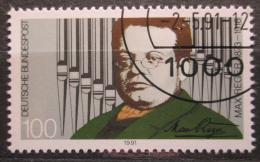 Poštovní známka Nìmecko 1991 Max Reger, skladatel Mi# 1529