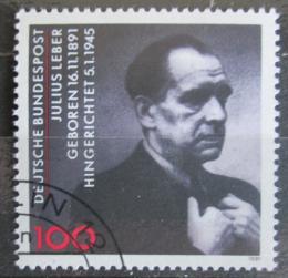 Poštovní známka Nìmecko 1991 Julius Leber, politik Mi# 1574