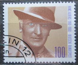 Poštovní známka Nìmecko 1991 Hans Albers, herec Mi# 1561