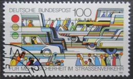 Poštovní známka Nìmecko 1991 Bezpeènost silnièního provozu Mi# 1554