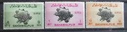 Poštovní známky Bahawalpur 1949 Výroèí UPU Mi# 26-28
