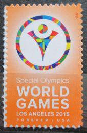 Poštovní známka USA 2015 Speciální olympiáda Mi# 5170 BA
