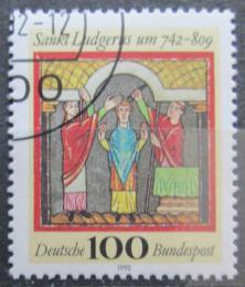 Poštovní známka Nìmecko 1992 Svatý Ludgerus Mi# 1610