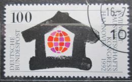 Poštovní známka Nìmecko 1992 Ekonomika domácností Mi# 1620