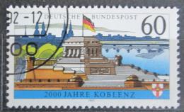 Poštovní známka Nìmecko 1992 Koblenz, 2000. výroèí Mi# 1583 y