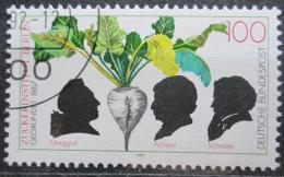 Poštovní známka Nìmecko 1992 Institut cukru, 125. výroèí Mi# 1599