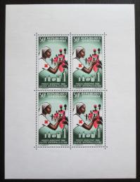 Poštovní známky Gabon 1966 Èervený køíž Mi# Block 4