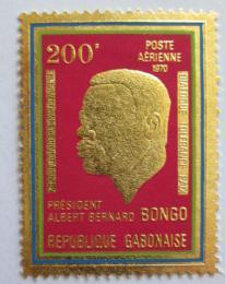 Poštovní známka Gabon 1970 Prezident Bongo Mi# 372