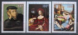 Poštovní známky Gabon 1970 Umìní, Raffael Mi# 374-76 Kat 8.50€