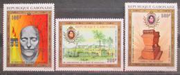 Poštovní známky Gabon 1971 Smrt Napoleona, 150. výroèí TOP SET Mi# 431-33 Kat 20€