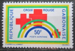 Poštovní známka Gabon 1971 Gabonský èervený køíž Mi# 442