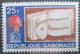 Poštovní známka Gabon 1968 Vzdìlání pod UNESCO Mi# 312