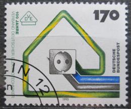 Poštovní známka Nìmecko 1993 Spolek nìmeckých elektrikáøù Mi# 1648