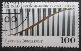 Poštovní známka Nìmecko 1993 Lipský orchestr, 250. výroèí Mi# 1654