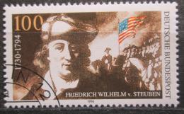 Poštovní známka Nìmecko 1994 Baron von Steuben Mi# 1766