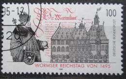 Poštovní známka Nìmecko 1995 Wormský snìm Mi# 1773