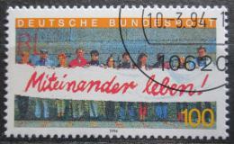 Poštovní známka Nìmecko 1994 Cizinci v Nìmecku Mi# 1725