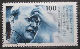 Poštovní známka Nìmecko 1995 Dietrich Bonhoeffer, teolog Mi# 1788