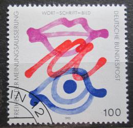 Poštovní známka Nìmecko 1995 Svoboda projevu Mi# 1789