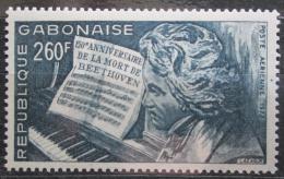 Poštovní známka Gabon 1977 Ludwig van Beethoven Mi# 623