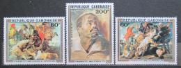 Poštovní známky Gabon 1977 Umìní, Rubens Mi# 643-45