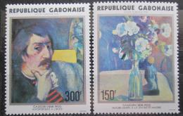 Poštovní známky Gabon 1978 Umìní, Paul Gauguin Mi# 648-49 Kat 9€