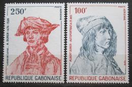 Poštovní známky Gabon 1978 Umìní, Albrecht Dürer Mi# 679-80