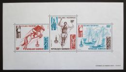 Poštovní známky Gabon 1979 LOH Moskva Mi# Block 36