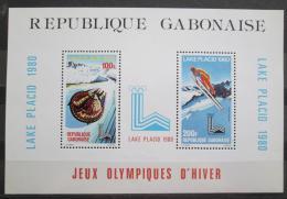 Poštovní známky Gabon 1980 ZOH Lake Placid Mi# Block 38