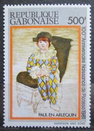 Poštovní známka Gabon 1981 Umìní, Pablo Picasso Mi# 804 Kat 7€