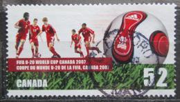 Poštovní známka Kanada 2007 MS juniorù ve fotbale Mi# 2409