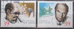 Poštovní známky Kanada 1990 Norman Bethune, lékaø Mi# 1171-72