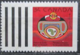 Poštovní známka Kanada 1990 Vánoce Mi# 1202 D