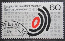 Poštovní známka Nìmecko 1981 Evropský patentní úøad Mi# 1088