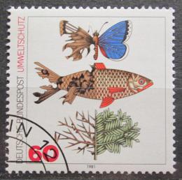 Poštovní známka Nìmecko 1981 Ochrana pøírody Mi# 1087