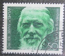 Poštovní známka Nìmecko 1981 Wilhelm Raabe, básník Mi# 1104
