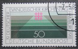 Poštovní známka Poštovní známka Nìmecko 1981 Setkání protestantù Mi# 1098