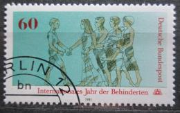 Poštovní známka Nìmecko 1981 Tìlesnì postižení Mi# 1083