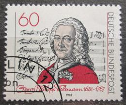 Poštovní známka Nìmecko 1981 Georg Philipp Telemann Mi# 1085