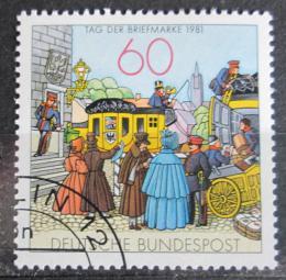 Poštovní známka Nìmecko 1981 Den známek Mi# 1112