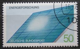 Poštovní známka Nìmecko 1981 Solární panel Mi# 1101